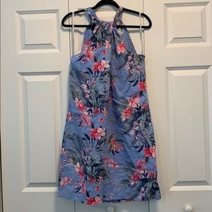 Linen Floral Tommy Bahama Sun Dress Size L